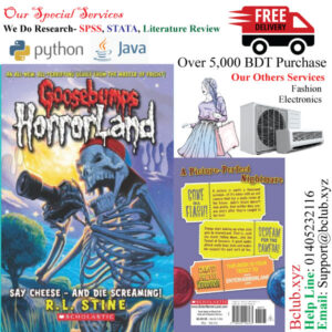 Goosebumps Horror Land(Say Cheese and Die screaming) by R.L. Stine