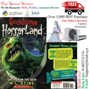 Goosebumps Horror Land(Creep from the Deep) by-R. L. Stine