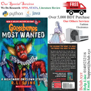 Goosebumps Most Wanted(A Nightmare on Clown Street) by R.L. Stine