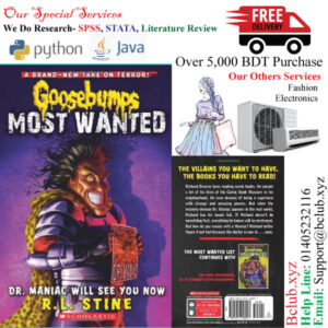 Goosebumps Most Wanted(Dr. Maniac Will See You Now) by R.L. Stine