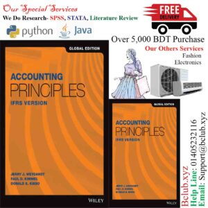 Accounting Principles: IFRS Version, 1st Edition, Global Edition Jerry J. Weygandt, Paul D. Kimmel, Donald E. Kieso