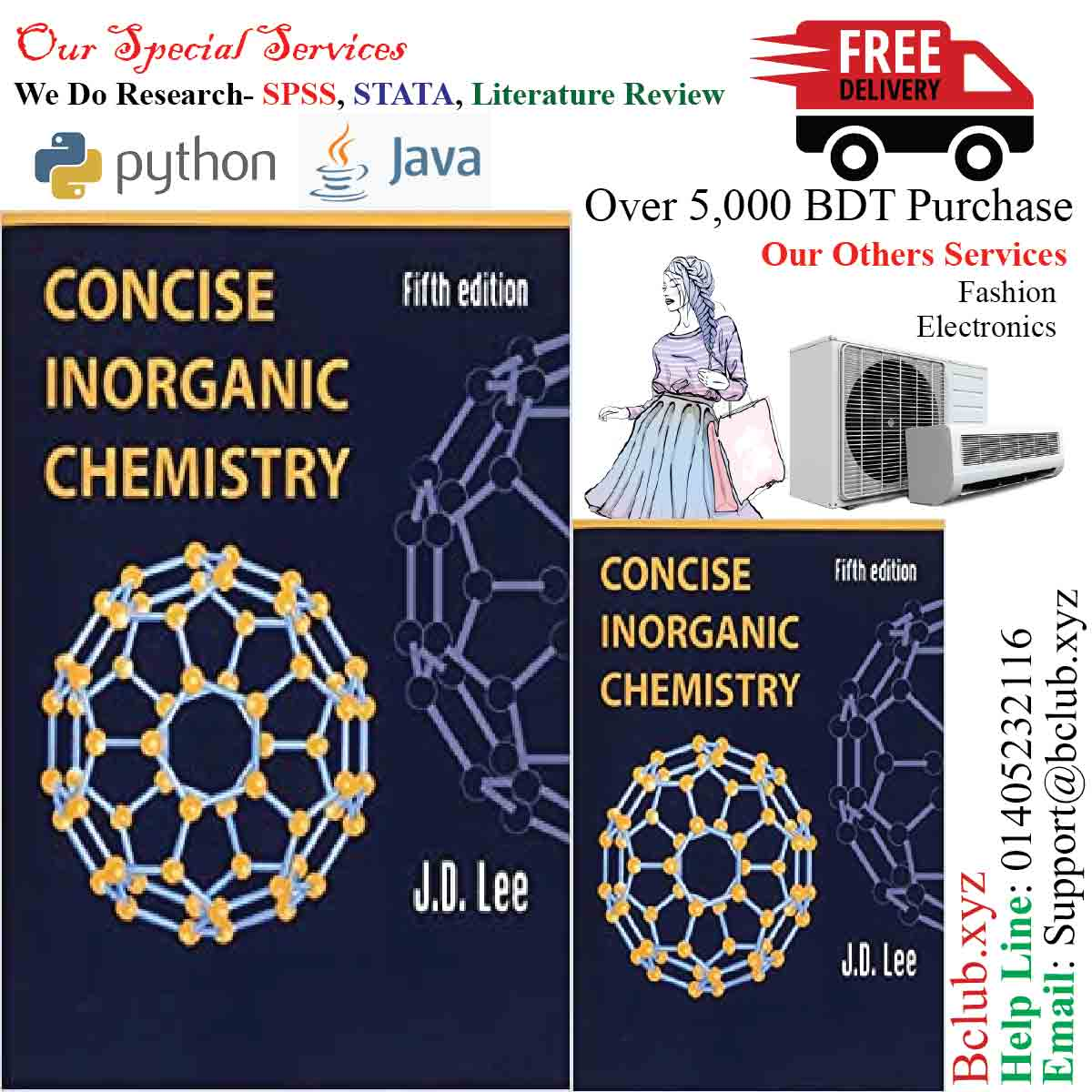 Concise Inorganic Chemistry by J. D. Lee