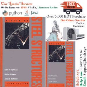 Design of Steel Structures 3rd edition by Gaylord, Edwin H., Gaylord, Charles N., Stallmeyer, James E. (1991) Hardcover