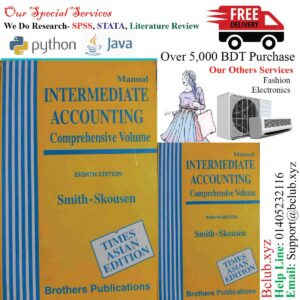 Manual Intermediate accounting: Comprehensive volume 8th edition by Jay M Smith