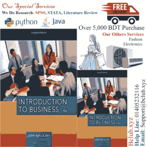 Introduction to Business 4th Edition by Jeff Madura