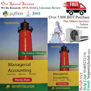 Solution of Managerial Accounting 14th Edition by Garrison, Ray; Noreen, Eric; Brewer