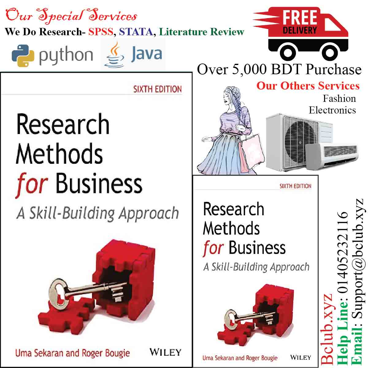 Research Methods for Business: A Skill-Building Approach, 6ed by Uma Sekaran ), Roger Bougie