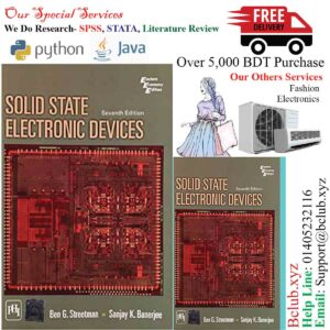 Solid State Electronic Devices 7th Edition by SANJAY K.BANNERJEE