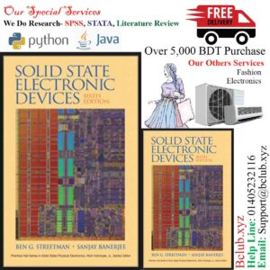 Solid State Electronic Devices 6th Edition by SANJAY K.BANNERJEE