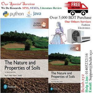The Nature and Properties of Soils, Global Edition 15th Edition by Raymond R. Weil (Author), Nyle C. Brady (Author)
