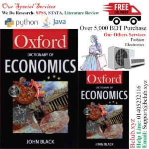 A Dictionary of Economics (Oxford Paperback Reference) Black, John