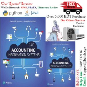 Accounting Information Systems, 14th edition by Marshall B. Romney & Paul J. Steinbart