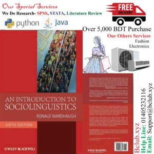 An Introduction to Sociolinguistics, 6th Edition by Ronald Wardhaugh
