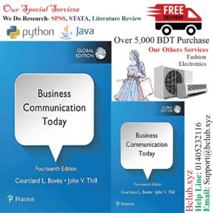 Business Communication Today, Global Edition 14th Edition by Courtland L. Bovee (Author), John V. Thill (Author)