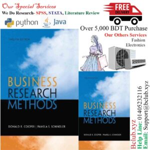 Business Research Methods 12th (twelfth) Edition by Cooper, Donald R, Schindler, Pamela S.