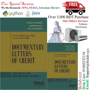 Documentary Letters of Credit - A Review of Cases from the Courts of India by Vincent O Brein Ashish Madan