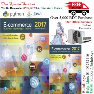 E-Commerce 2017, 13th edition Kenneth C. Laudon & Carol Guercio Traver
