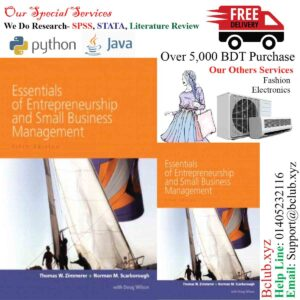 Essentials of Entrepreneurship and Small Business Management (5th Edition) by Thomas W Zimmerer; Norman M. Scarborough; Doug Wilson