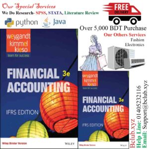Financial Accounting: IFRS, 3rd Edition by Jerry J. Weygandt, Paul D. Kimmel, Donald E. Kieso