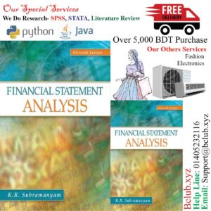 Financial Statement Analysis 11th Edition by K. R. Subramanyam Associate Professor (Author)