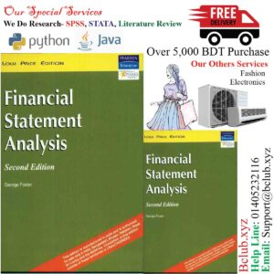 Financial Statement Analysis 2nd editionby George Foster