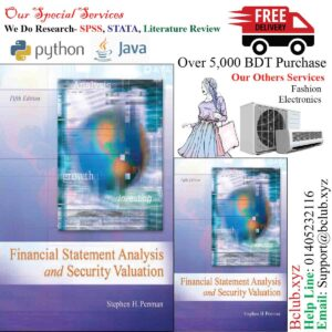 Financial Statement Analysis and Security Valuation 5th Edition By Stephen Penman