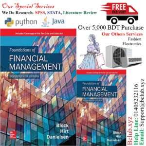 Foundations of Financial Management 17th Edition by Stanley Block (Author), Geoffrey Hirt (Author), Bartley Danielsen (Author)