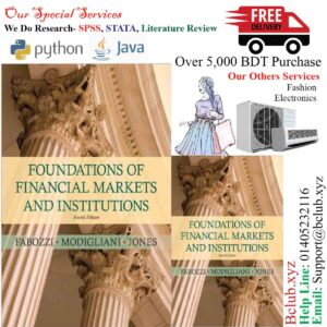 Foundations of Financial Markets and Institutions (text only) 4th (Fourth) edition by F. G Modigliani,F. J. Jones F. J. Fabozzi Hardcover by F. J. Jones F. J. Fabozzi,F. G Modigliani (Author)