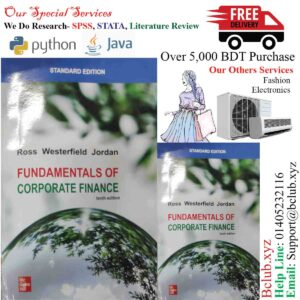 Fundamentals of Corporate Finance Tenth Edition by Ross (Author), Westerfield (Author), Jordan (Author)