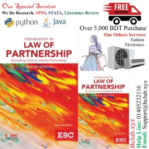 Introduction to Law of Partnership by Avtar Singh