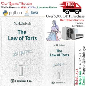 Jhabvala Law Series: Law of Torts