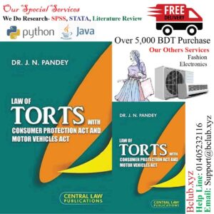 Law of Torts (with Consumer Protection Act and Motor Vehicles Act) by J.N. Pandey
