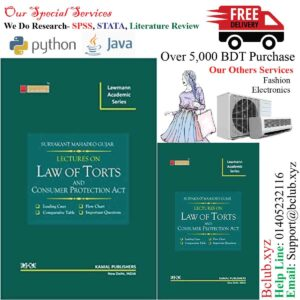 Lectures on Law of Torts (Lawmann's Academic Series) by Lawmann's