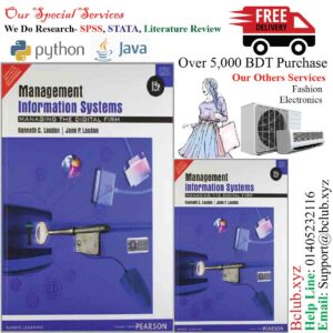 Management Information System, 12th Edition by Kenneth C Laudon and Jane P Laudon, Pearson India