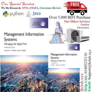 Management Information Systems plus Pearson MyLab MIS with Pearson eText, Global Edition, 15th Edition Jane P. Laudon Kenneth