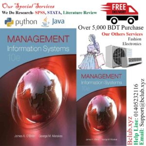 Management Information Systems by O'Brien, James Published by McGraw-Hill/Irwin 10th (tenth) edition