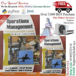 Operations Management : Processes and Supply Chains by Lee J.Krajewski