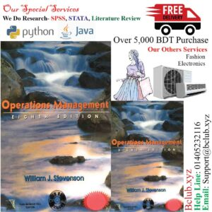 Operations Management 8th Edition by William J. Stevenson (Author)