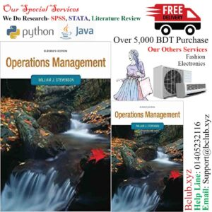 Operations Management (Operations and Decision Sciences) Eleventh (11th) Edition By William Stevenson