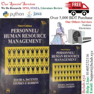 Personnel Human Resource Management by David A Decenzo Stephen P Robbins,