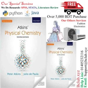 Physical Chemistry: Tenth Edition (Old Edition) Paperback – 1 January 2014 by Atkins (Author)