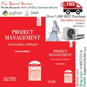 Project Management: A Managerial Approach by Jack R. Meredith (Author), Samuel J. Mantel (Author)