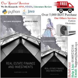 Real Estate Finance and Investments 14th edition William Brueggeman, Jeffrey Fisher