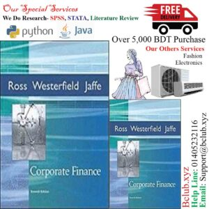 Ross et al. 'Corporate Finance' - 7th (Seventh) Edition by and Jaffe Ross, Westerfield (Author)