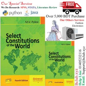 Select Constitutions of the World by M.V.Pylee