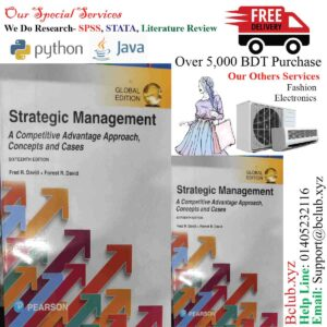 Strategic Management Concepts and Cases 16th Edition Fred David 16E