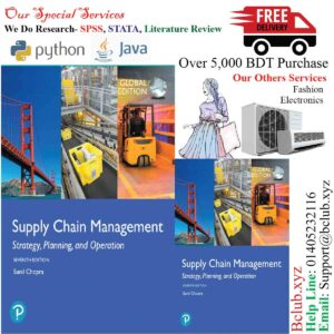Supply Chain Management: Strategy, Planning, and Operation, Global Edition, 7th Edition by Sunil Chopra
