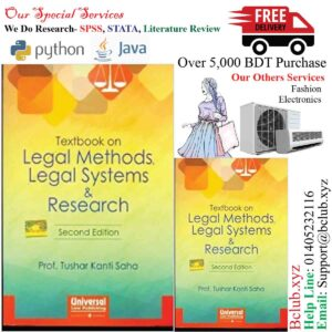 Textbook on Legal Methods, Legal Systems & Research by Saha Tushar Kanti