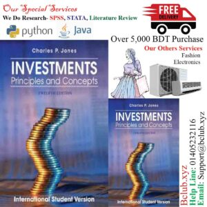 Investments: Principles and Concepts,12/E by Charles P Jones