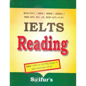 Saifur's IELTS Reading Ed. march,2017 Saifur Rahman Khan